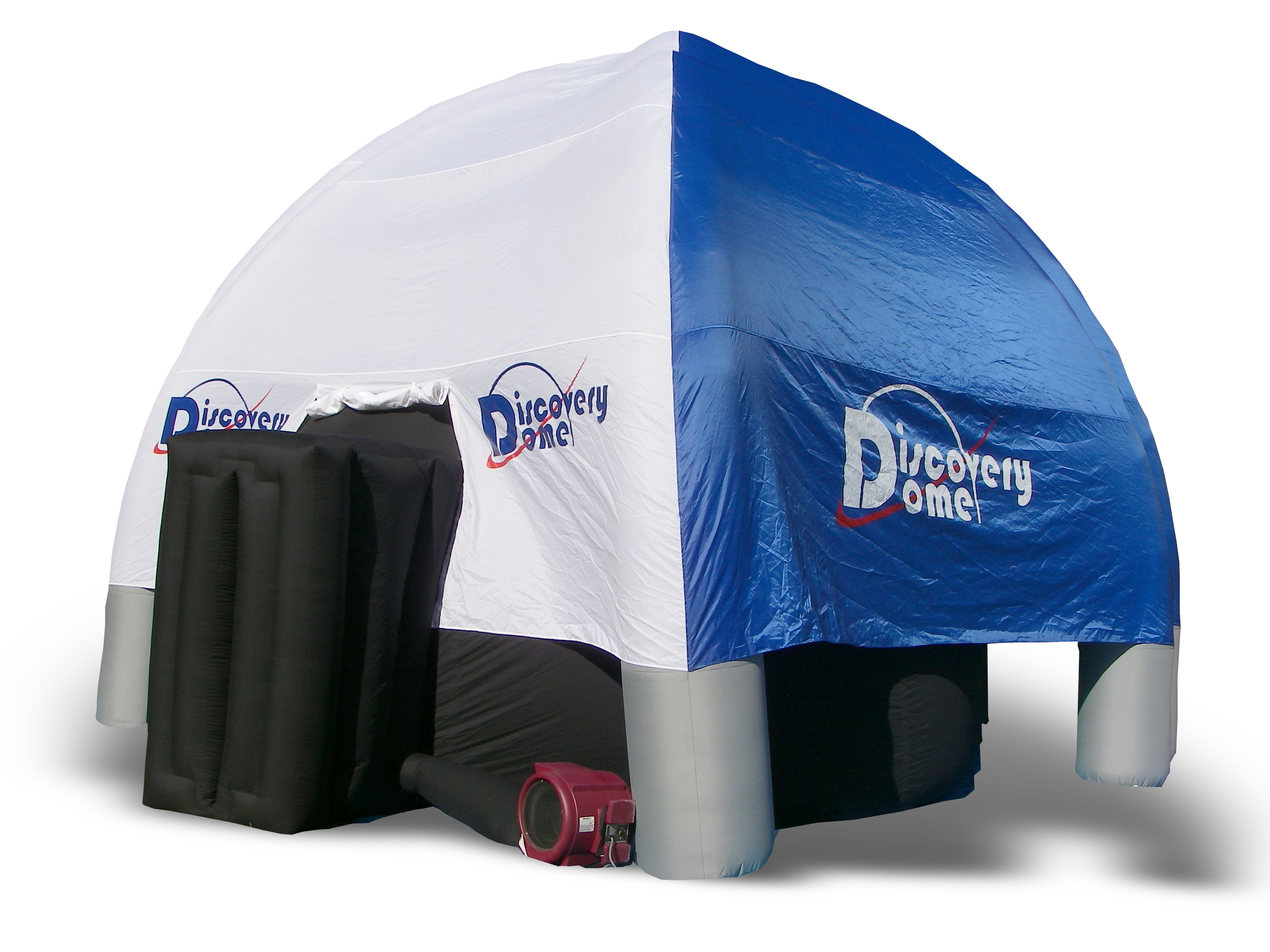 5 Meter Go-Dome under a Dome Cover for outdoor use.