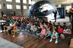 Go-Dome Portable Planetariums and Global Sustainability