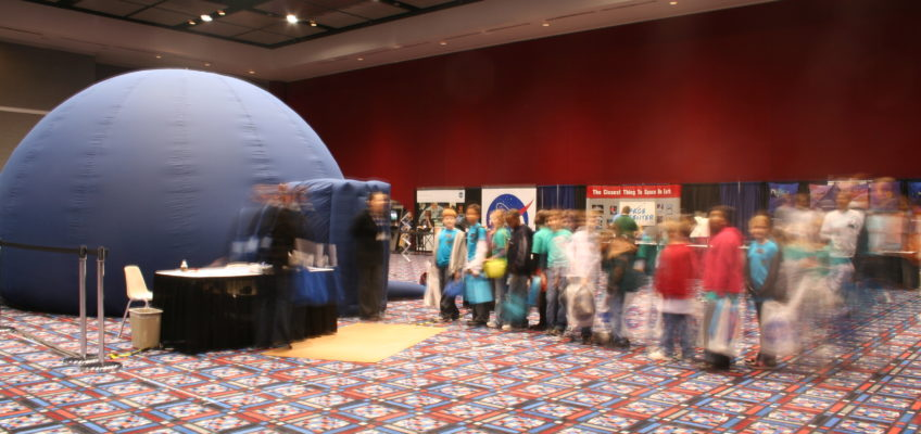 Selecting the Right Inflatable Planetarium I: Dome Capacity/Size